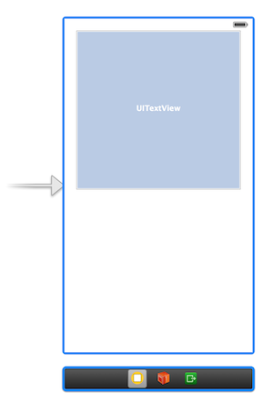 UITextView on ViewController