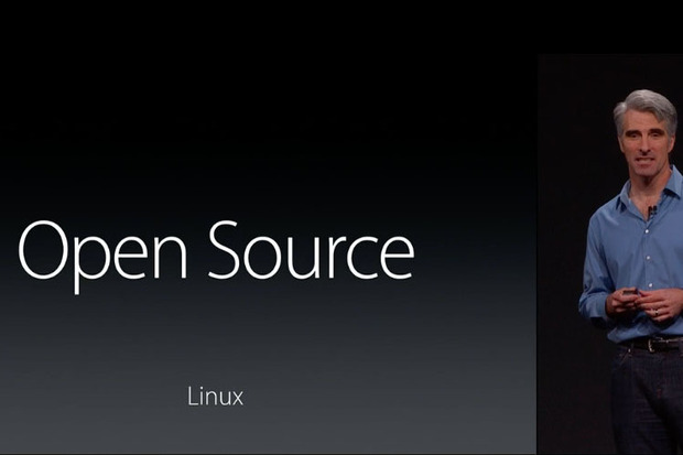 Craig Federighi Introduces Open Source Swift on Linux at WWDC 2015