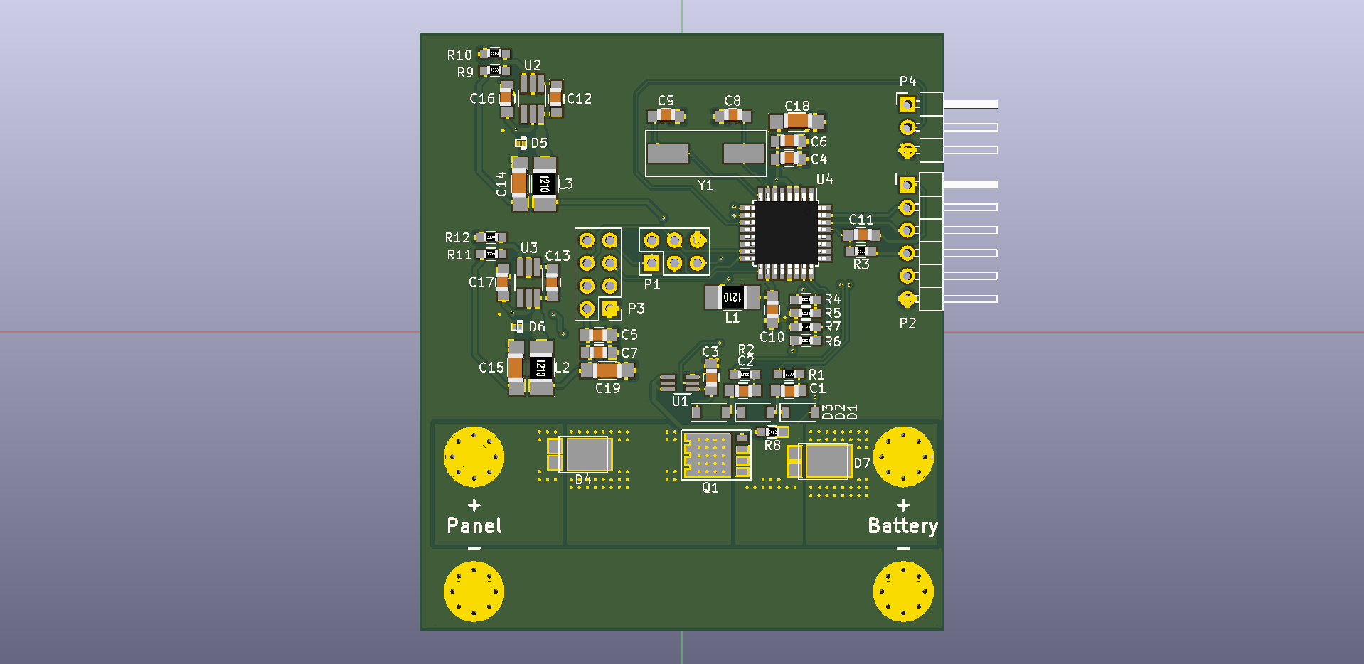 Github Duckle29 Pwm Solar Charge Controller A Battery Circuit Front Render Flipped Bottom