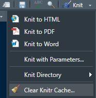 clean knit cache