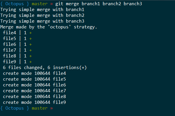 Git merge octopus