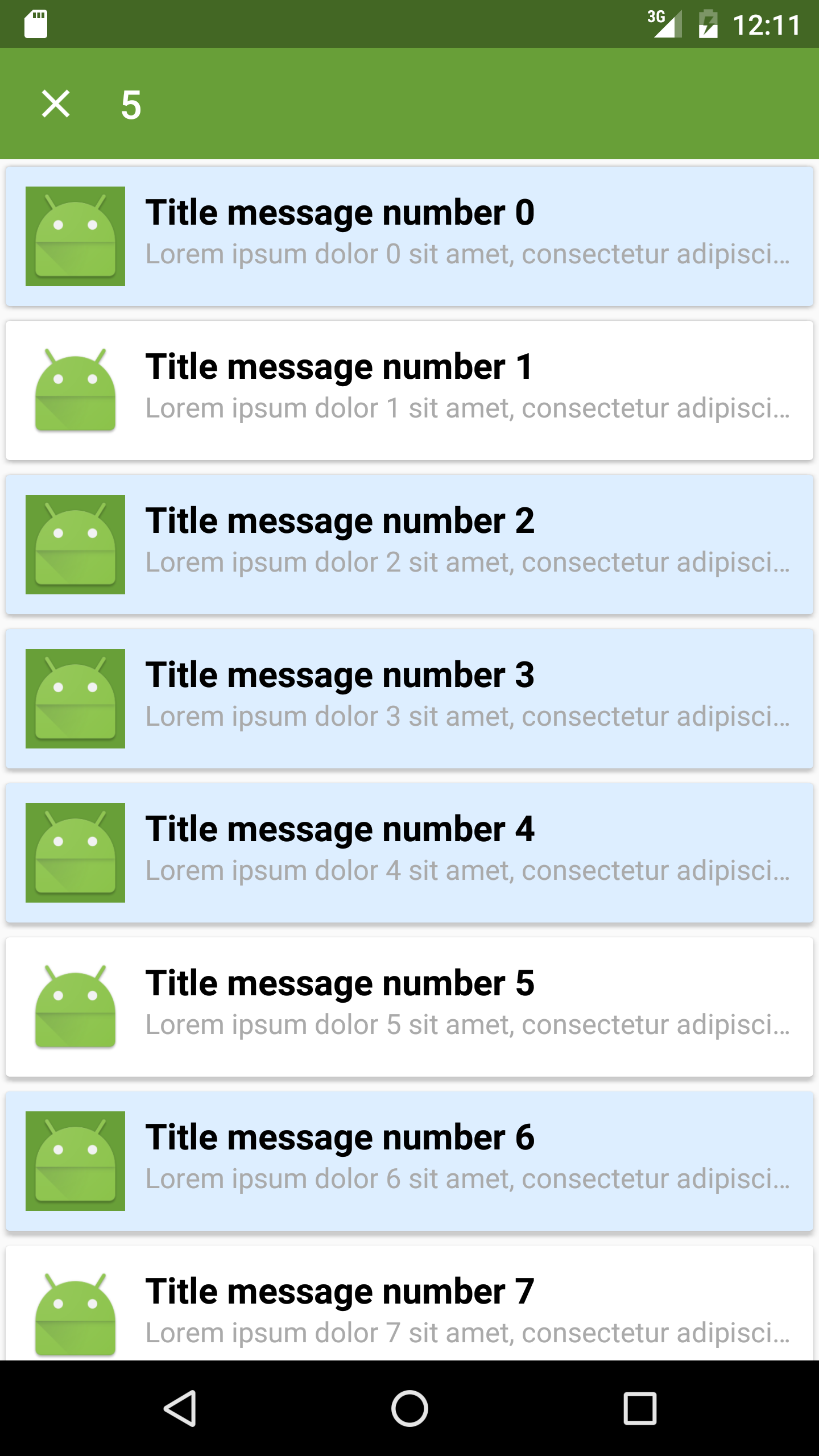 GitHub - dvdciri/MultiChoiceRecyclerView: Multi choice selection