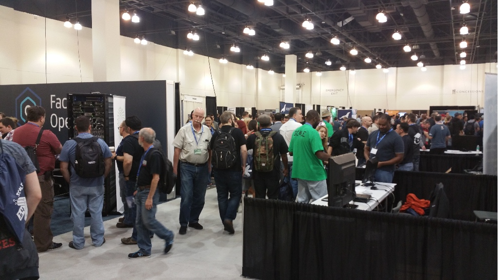 Expo Floor at SCaLE x14