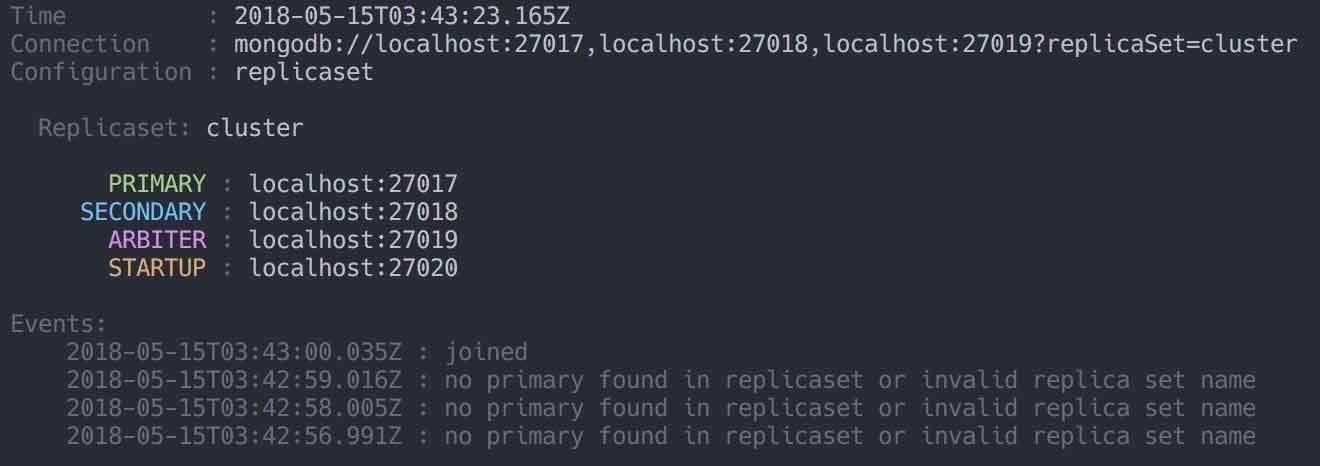 Replicaset Screenshot