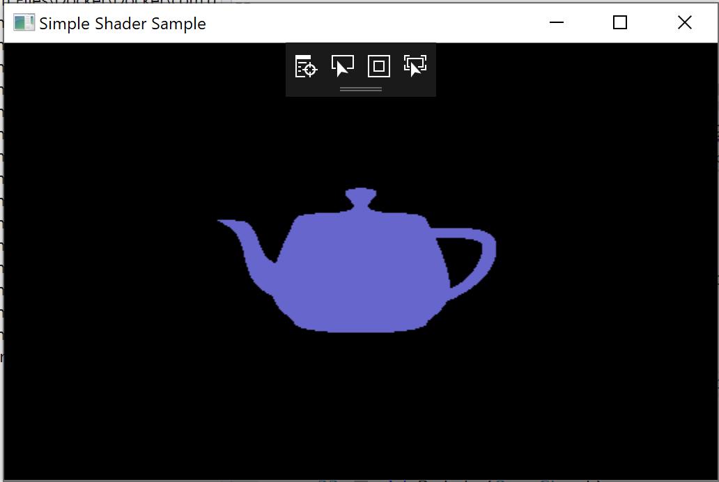 Simple Shader Sample