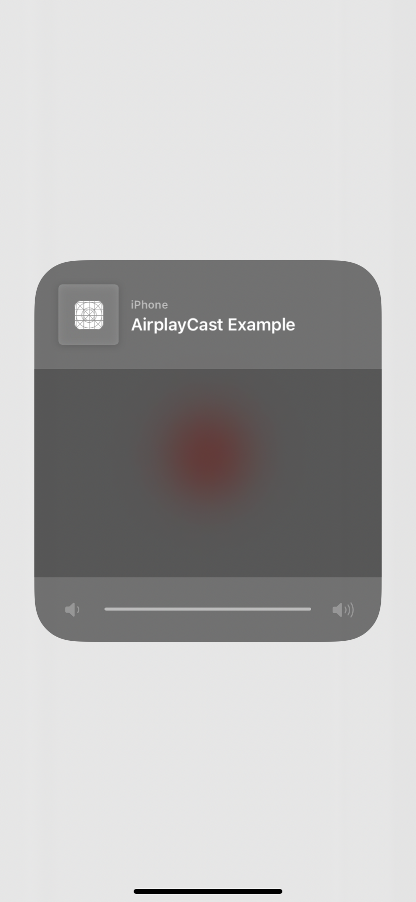 AirPlay Button Pressed