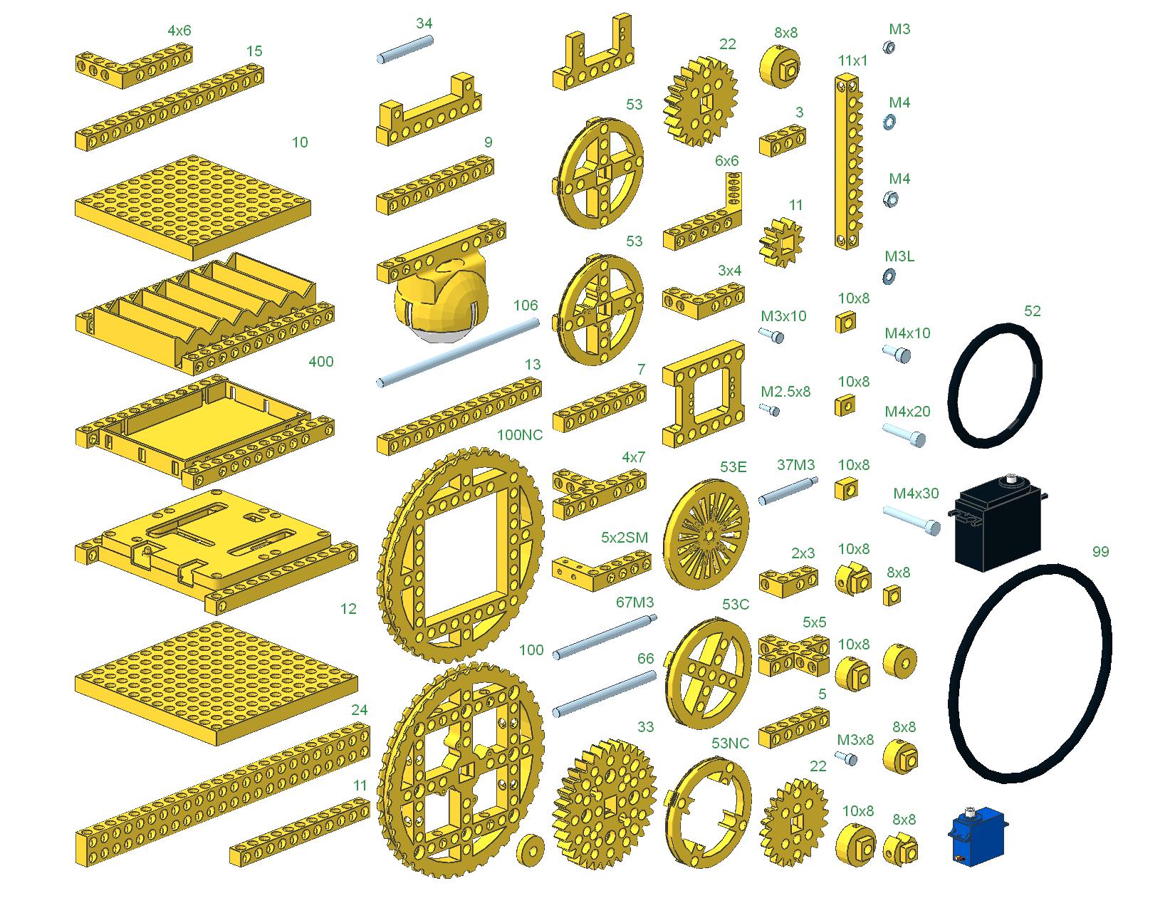 Bitbeam parts