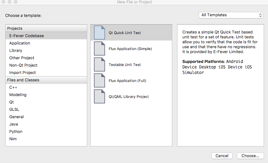 create your own project templates for qt creator qt forum