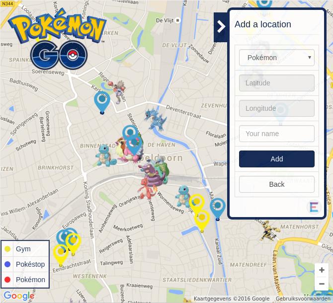 GitHub - e11en/pokemon-go-map: A interactive map for pokemon GO