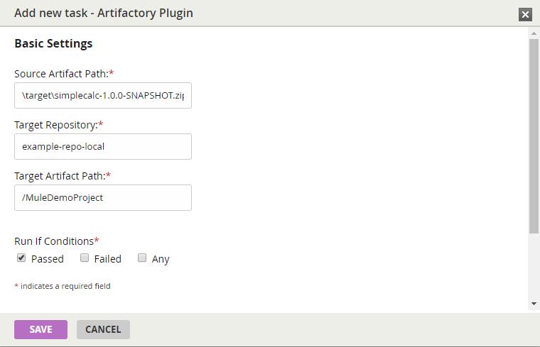 GitHub - eaiesb/Gocd-Artifactory-Plugin