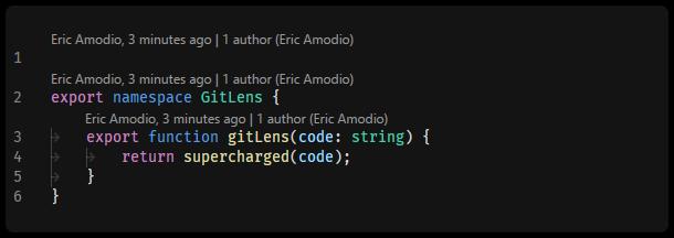 Git Code Lens