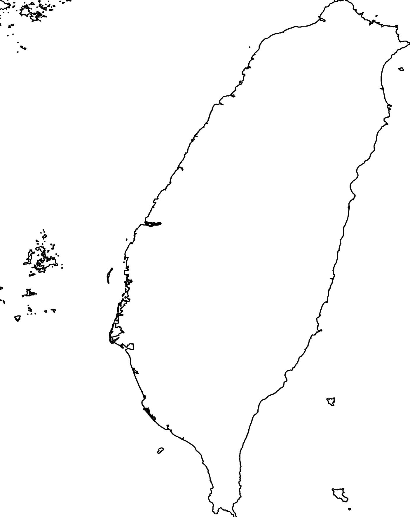 taiwan basemap