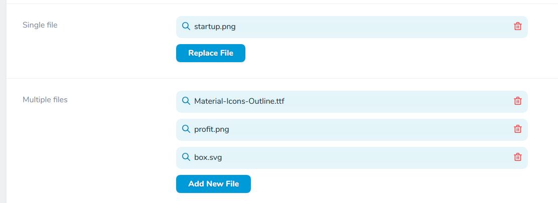 Generic file management