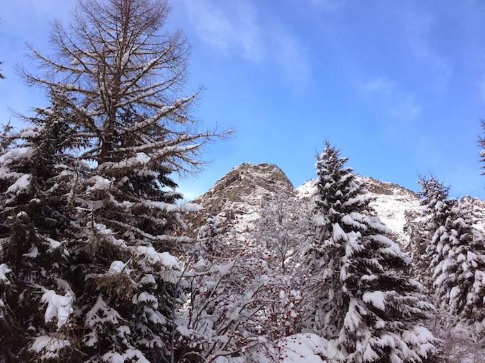 Switzerland in the snow