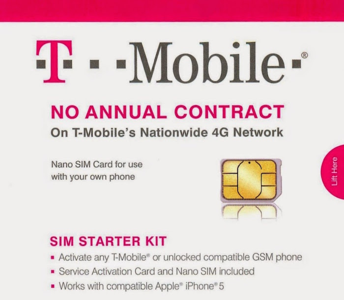 T-Mobile SIM Kit