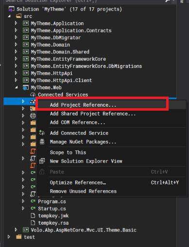 addProjectReference