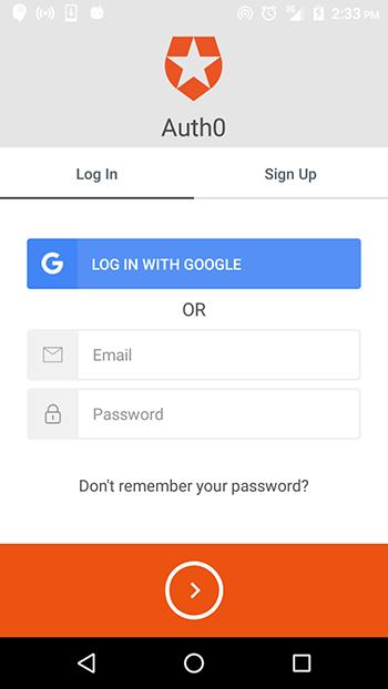 Lock widget
