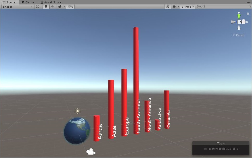 Unity scene screenshot