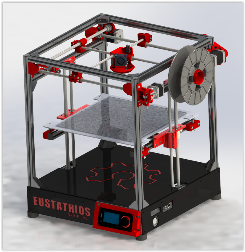 Eustathios Spider - V2 Render Image