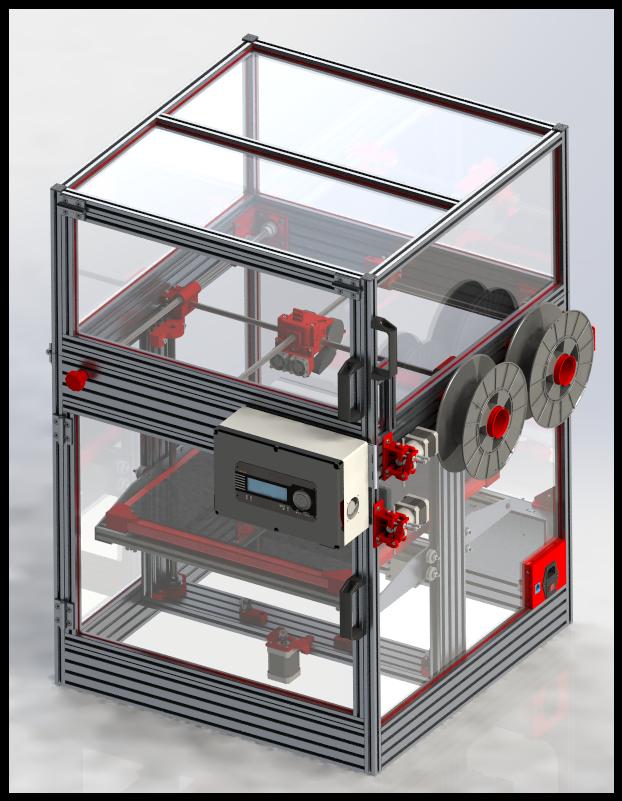 HercuLien 3D Printer Render Image