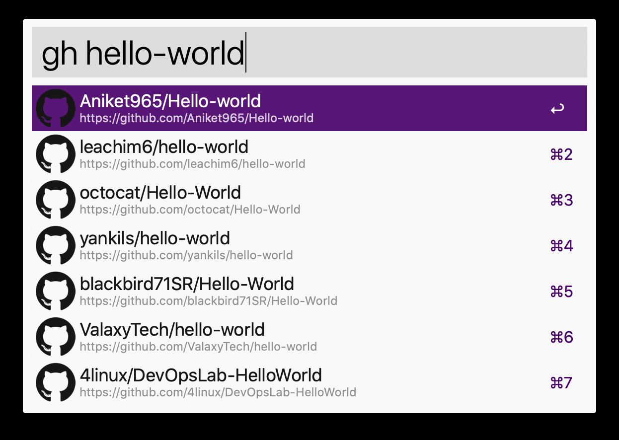 gh hello-world