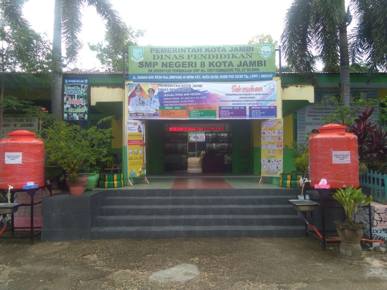 Eduadmission Pendaftaran Online Smp Negeri 008 Jambi