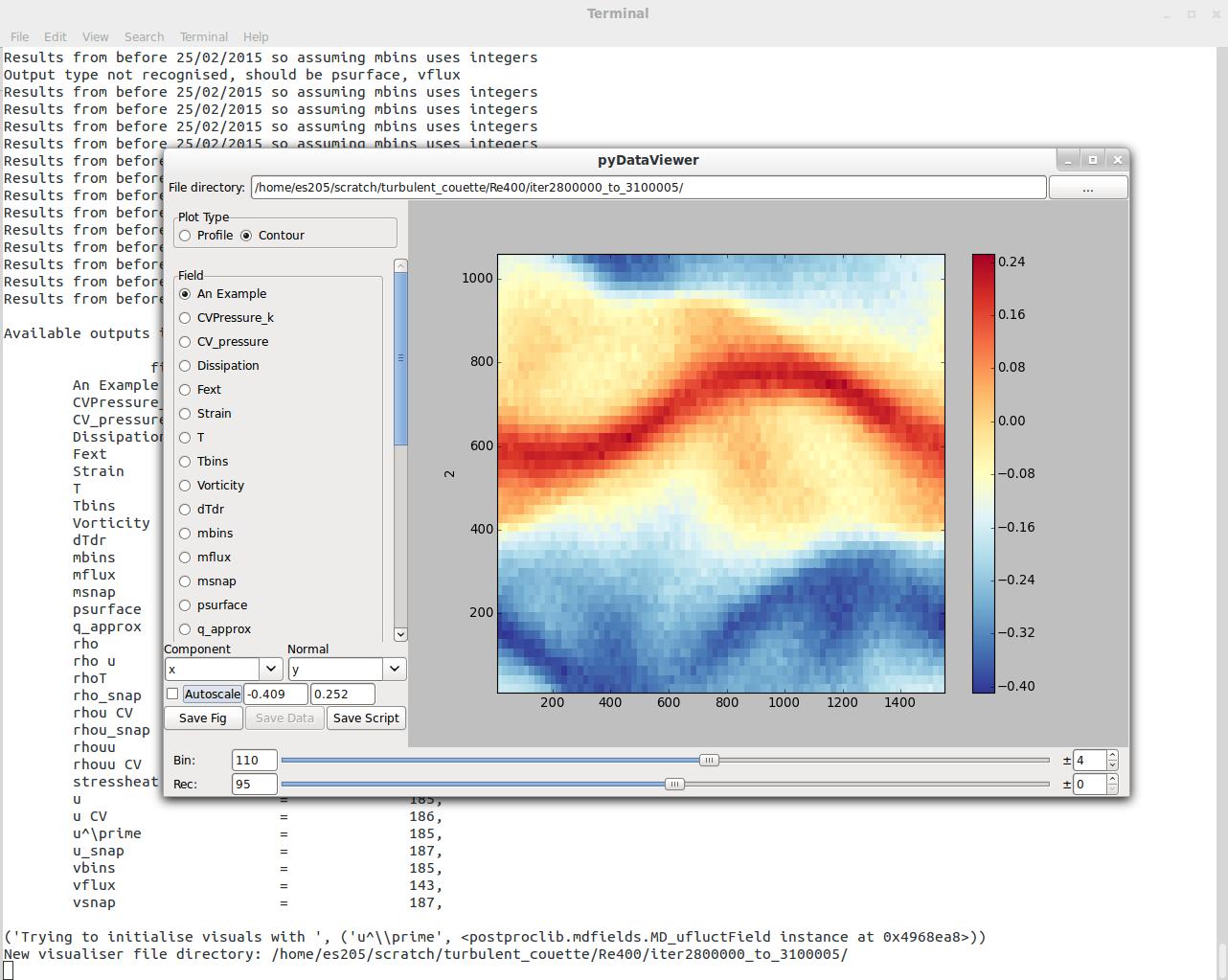GitHub - edwardsmith999/pyDataView: Data Viewer GUI written in