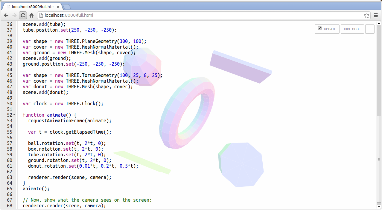 ICE Code Editor Screenshot