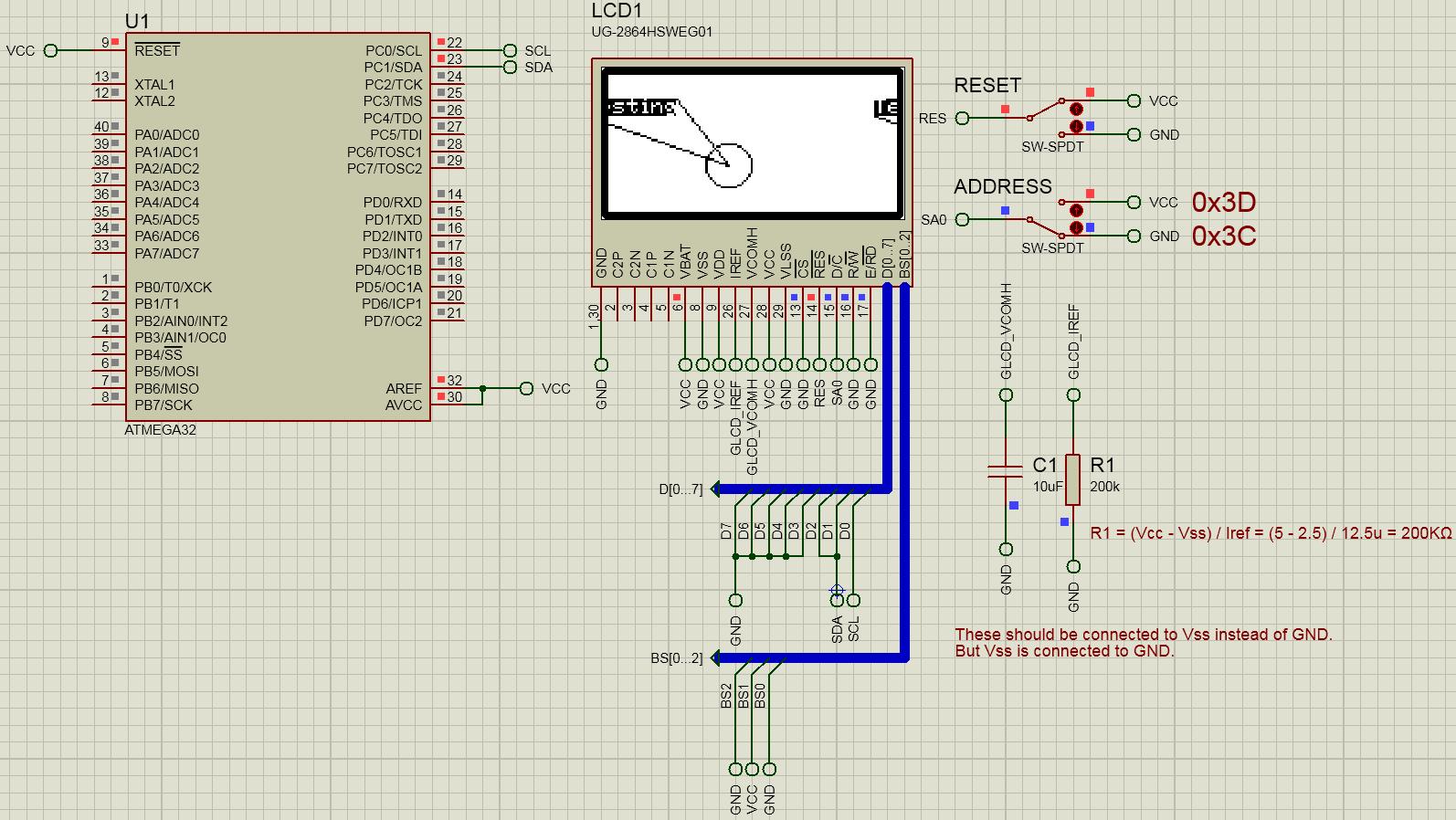 GitHub - efthymios-ks/AVR-SSD1306-Library: SSD1306-based GLCD C