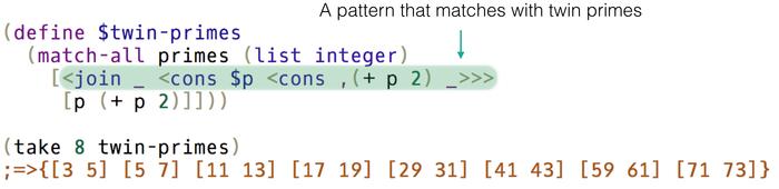 Egison Programming Language With Non Linear Pattern