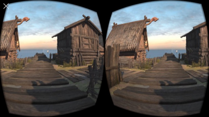 Preview of StereoViewController