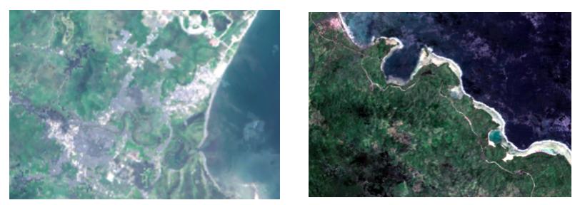 Satellite imagery comparison