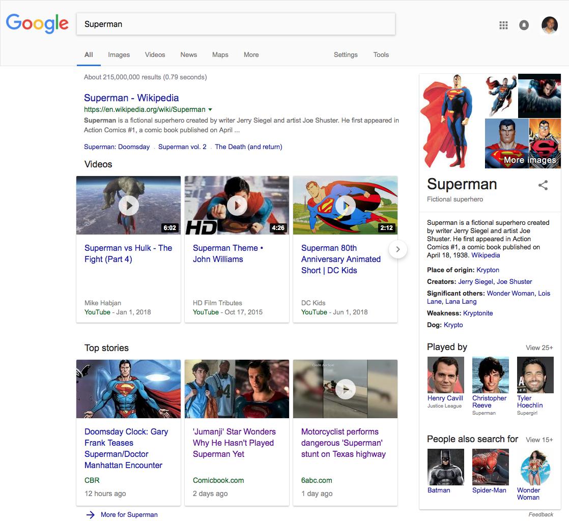 Google Homepage Screenshot