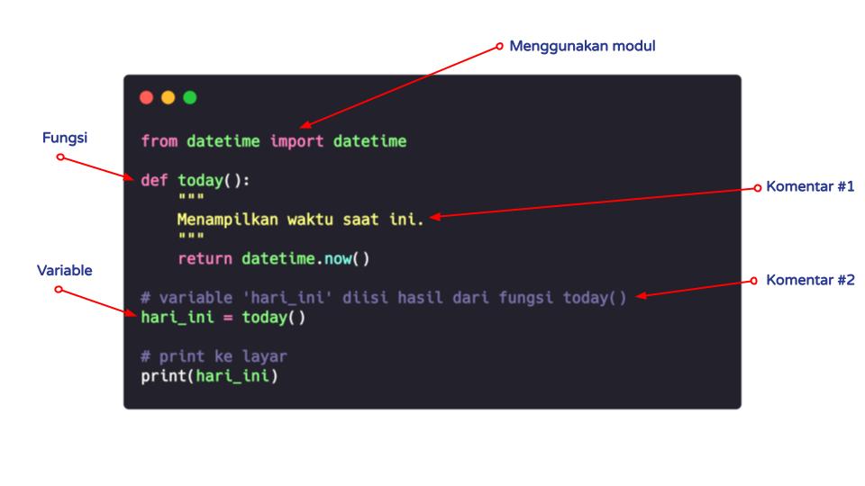 Contoh Kode Python