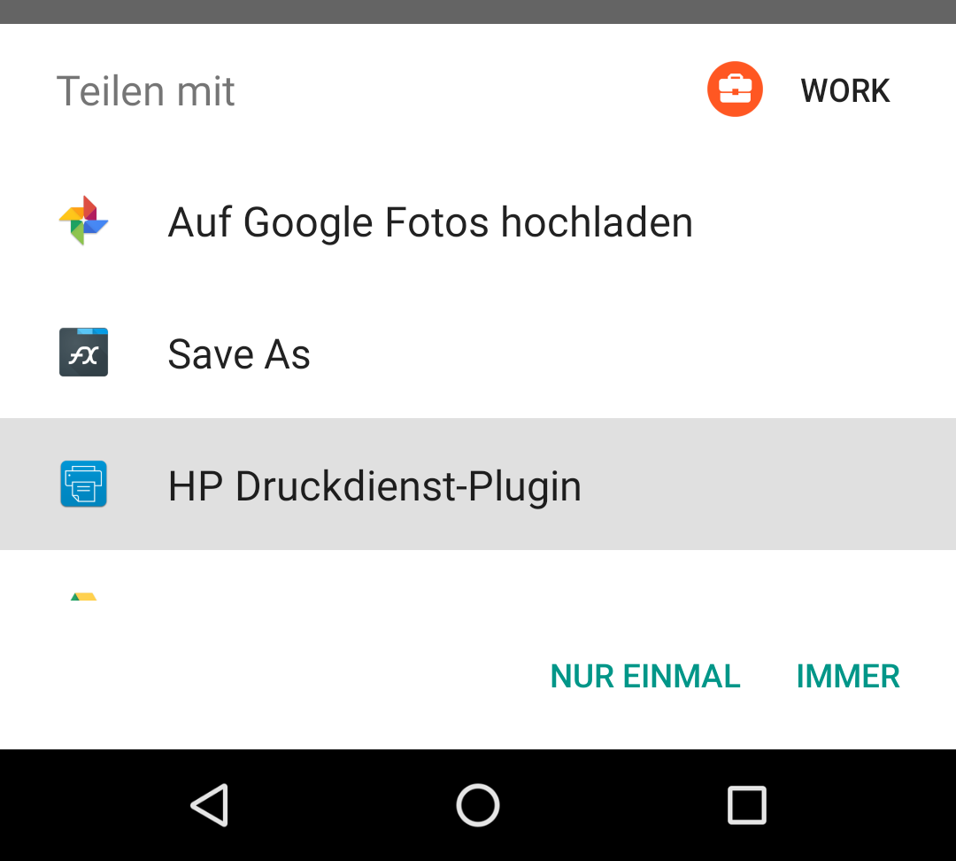 Android Send Stream to Printer