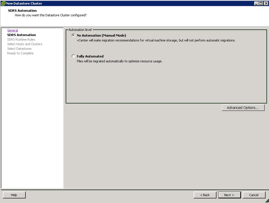 SDRS_Automation_level