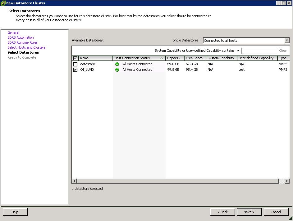 SDRS_Select_Datastore