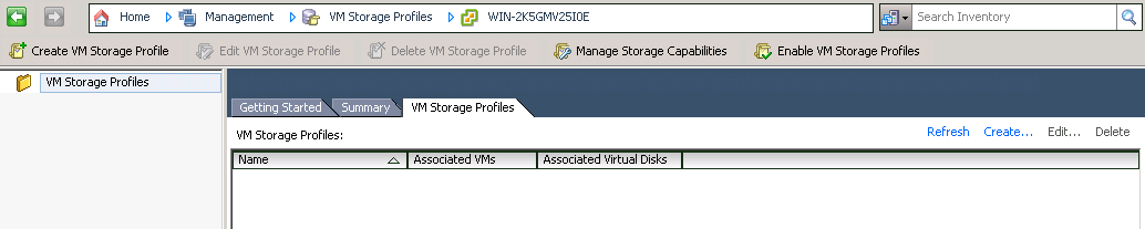 vm storage profiles VCAP5 DCA Objective 1.1 – Implement and Manage Complex Storage Solutions