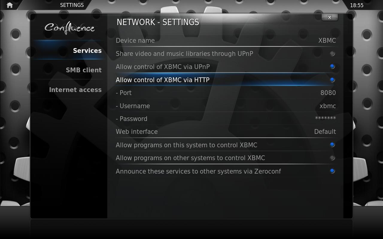 xbmc_remote_control