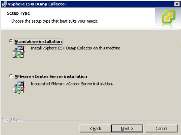 dump collector install type VCAP5 DCA Objective 6.1 – Configure, Manage, and Analyze vSphere Log Files