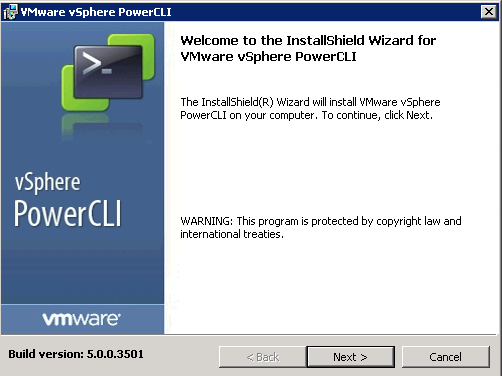 powercli install screen VCAP5 DCA Objective 8.1 – Execute VMware Cmdlets and Customize Scripts Using PowerCLI