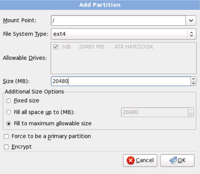 rhel6 install add partition RHCSA and RHCE Chapter 1   Installation