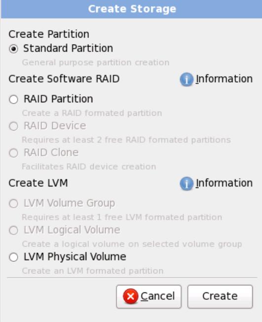 rhel6 install create storage RHCSA and RHCE Chapter 1   Installation
