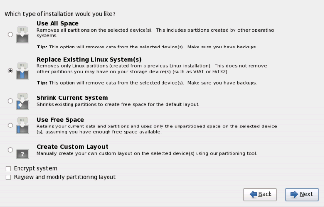rhel6 install disk partitioning RHCSA and RHCE Chapter 1   Installation