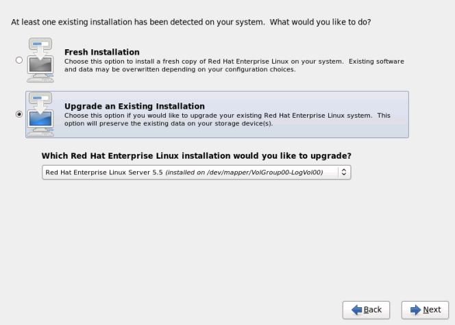 rhel6 install upgrade dialog RHCSA and RHCE Chapter 1   Installation