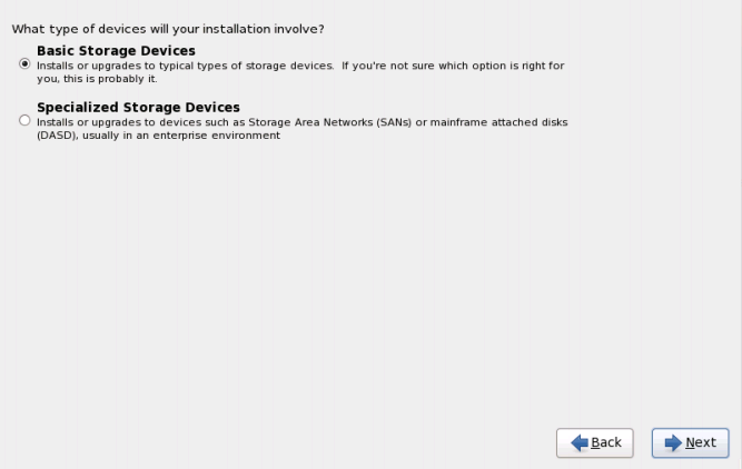 rhel6 storage devices RHCSA and RHCE Chapter 1   Installation