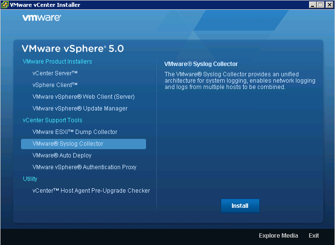 select syslog collector VCAP5 DCA Objective 6.1 – Configure, Manage, and Analyze vSphere Log Files