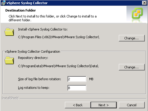 syslog collector configuration VCAP5 DCA Objective 6.1 – Configure, Manage, and Analyze vSphere Log Files