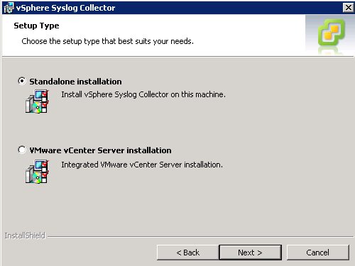 syslog collector installation type VCAP5 DCA Objective 6.1 – Configure, Manage, and Analyze vSphere Log Files