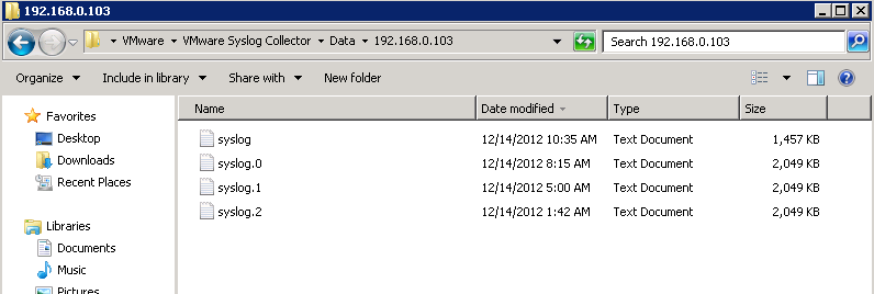 syslog collector logs1 VCAP5 DCA Objective 6.1 – Configure, Manage, and Analyze vSphere Log Files